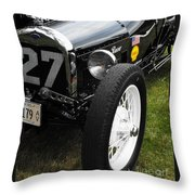 1920-1930 Ford Racer Throw Pillow