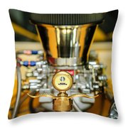 1920 Ford C-cab Pickup Hood Ornament 2 Throw Pillow