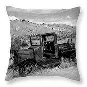 1920's International Truck Throw Pillow