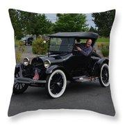 1922 Roadster Scharf Throw Pillow