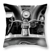 1923 Ford Hood Ornament 2 Throw Pillow