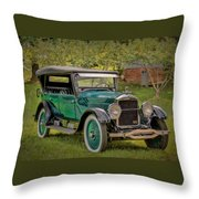 1923 Studebaker Big Six Touring Car Throw Pillow