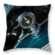 1924 Hudson Hood Ornament Throw Pillow