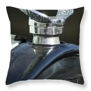 1925 Ford Model T Hood Ornament Throw Pillow