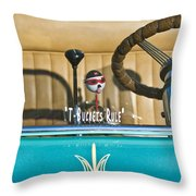 1925 T-bucket Rules Throw Pillow