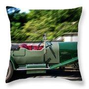 1926 Bentley Automobile Throw Pillow