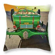 1926 Ford Model T 'dry Lakes' Roadster Vii Throw Pillow