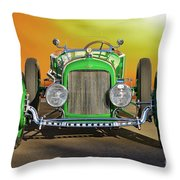 1926 Ford Model T 'dry Lakes' Roadster Viii Throw Pillow