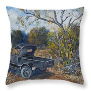 1926 Ford Truck Throw Pillow