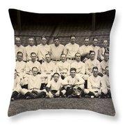 1926 Yankees Team Photo Throw Pillow