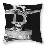 1927 Bentley 6.5 Liter Sports Tourer 3  Throw Pillow