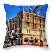 1927 Hotel Monte Vista - Flagstaff  Throw Pillow