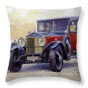 1927 Rolls-royce 40-50 Phantom 1  Throw Pillow