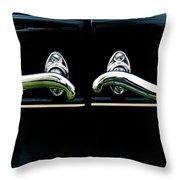 1927 Studebaker President Door Handles Painterly Throw Pillow
