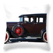 Beautiful Ford Sedan Throw Pillow