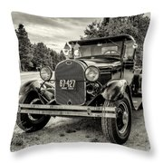 1929 Ford Model A Pickup Throw Pillow