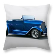 1929 Ford 'pretty Boy' Roadster Throw Pillow