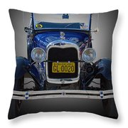 1929 Model A Ford Convertible Throw Pillow