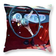 1929 Roadster Dashboard Throw Pillow