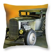 1930-31 Ford 'lakester' Coupe II Throw Pillow