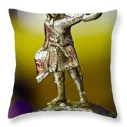 1930 Cadillac Lasalle Hood Ornament Throw Pillow