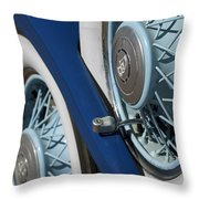 1930 Db Dodge Spare Tire Throw Pillow
