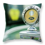 1930 Ford Model A Town Sdn Throw Pillow