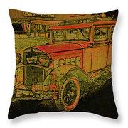 1930 Hudson Throw Pillow