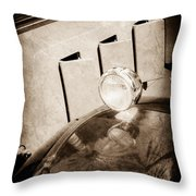 1930 Packard Fender Light -0139s Throw Pillow