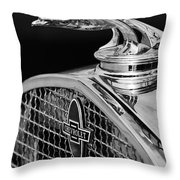 1931 Chevrolet Hood Ornament 4 Throw Pillow