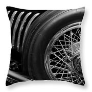 1931 Duesenberg Model J Spare Tire 2 Throw Pillow