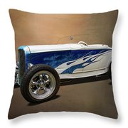 1931 Ford Convertible Hot Rod Throw Pillow