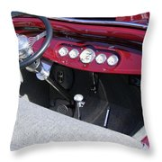 1931 Ford Dashboard Throw Pillow