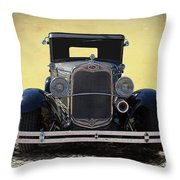1931 Ford Model A Coupe Throw Pillow