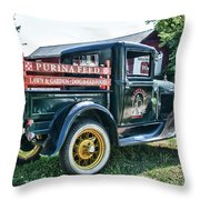 1931 Ford Truck Throw Pillow