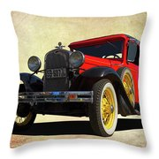 1931 Model A Throw Pillow