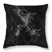 1931 Plane Patent Throw Pillow
