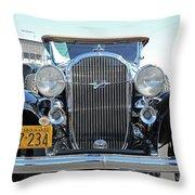 1932 Buick Automobile Throw Pillow