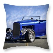 1932 Ford Hiboy Roadster Tdo II Throw Pillow