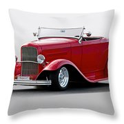 1932 Ford 'love Child' Roadster Throw Pillow