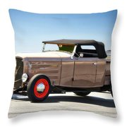 1932 Ford 'original Rod' Roadster Pickup Throw Pillow