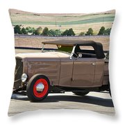 1932 Ford 'rare And Original' Roadster Pickup Throw Pillow