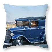 1932 Ford Sedan Delivery II Throw Pillow