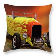 1932 Ford 'sunset' Studio' Roadster Throw Pillow