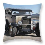 1932 Ford Tudor Sedan 'satin Doll' II Throw Pillow