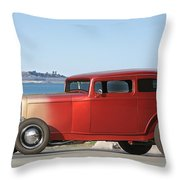 1932 Ford Victoria IIi Throw Pillow