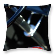 1932 Hot Rod Lincoln V12 Gear Shifter Throw Pillow