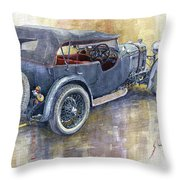 1932 Lagonda Low Chassis 2 Litre Supercharged  Throw Pillow