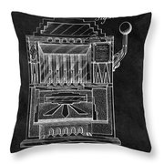 1932 Slots Patent Throw Pillow