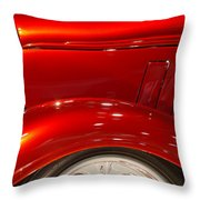 1933 Chevy Custom Roadster Throw Pillow